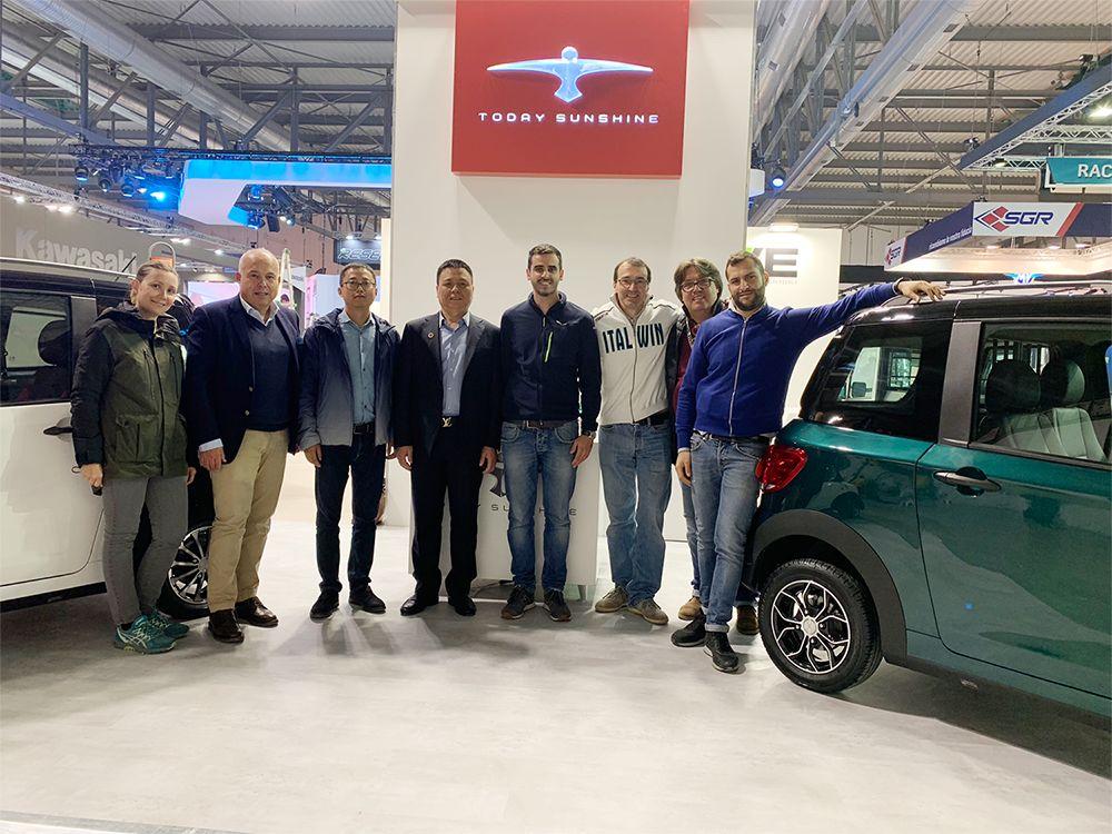展风采 促交流 助合作|米兰国际双轮车展览会正在进行时!